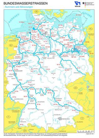Gdws Bundeswasserstrassenkarten