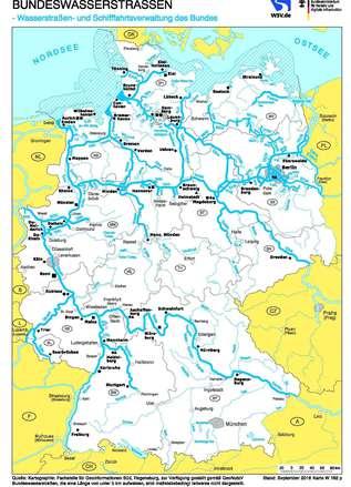 Deutsche Nordseeküste Karte.Wsa Weser Jade Nordsee Bundeswasserstraßenkarten